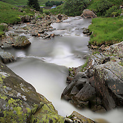 Talla water is a waterfall leading down into Talla Reservoir in the Scottish Borders. (in Tweeddale parish)
