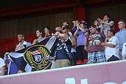 Dundee fans at Bramall Lane - Sheffield United v Dundee, pre season friendly at Bramall Lane<br /> <br />  - &copy; David Young - www.davidyoungphoto.co.uk - email: davidyoungphoto@gmail.com