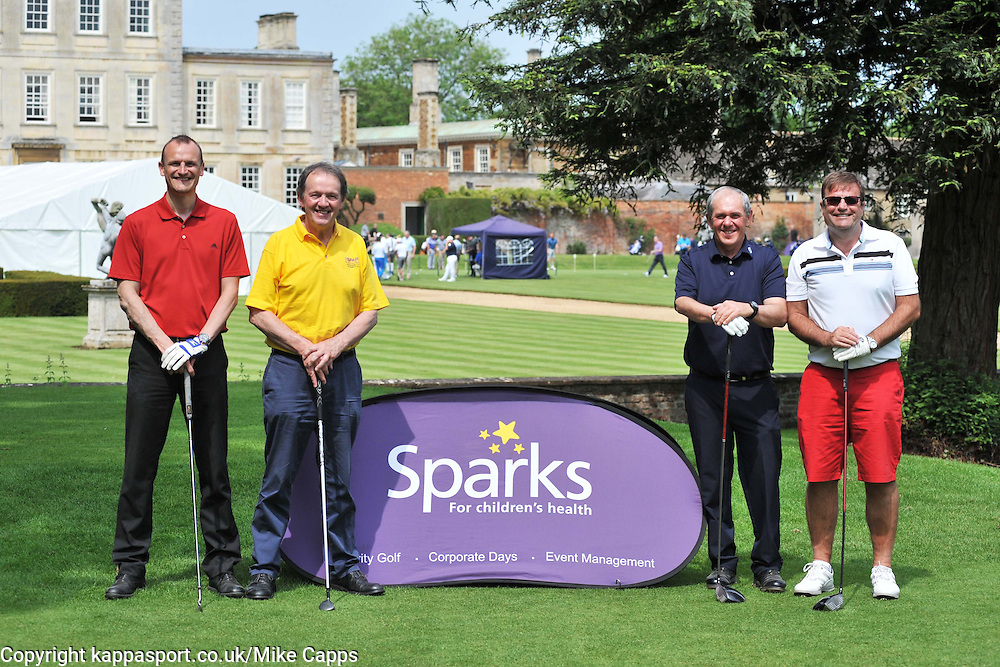 TEAM THORPES OF GREAT GLEN, Celebrity Kevin Whately,  Sparks Leon Haslam Celebrity Golf Day Wellingborough Golf Course, Northants  Tuesday 7th June 2016, Photo:Mike Capps Sparks Leon Haslam Celebrity Golf Day Wellingborough Golf Course, Northants  Tuesday 7th June 2016, Photo:Mike Capps