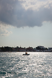 A boat in the Bahamas