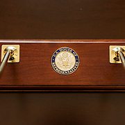 Official Unites States of Representatives pen holder for Representative Pramila Jayapal (D-WA, 7) on Tuesday, January 31, 2017.  John Boal photo/for The Stranger