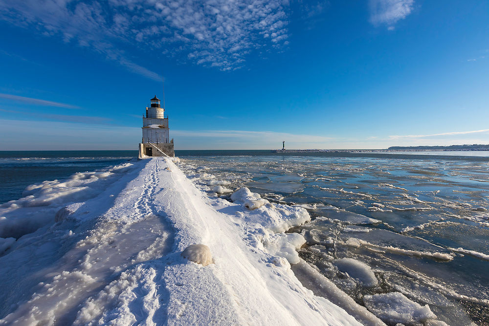Winter in Manitowoc, Wisconsin on 1-17-18. Photo by Mike Roemer
