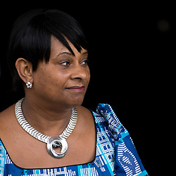 © London News Pictures. 22/04/2013. London, UK.  DOREEN LAWRENCE, Mother of Stephen Lawrence arriving at a memorial service at St Martins in the Field Church in London marking the 20 anniversary of the murder of Stephen Lawrence. Stephen Lawrence was murdered in a racist attack while waiting for a bus in SOuth London on the evening of 22 April 1993. Photo credit : Ben Cawthra/LNP