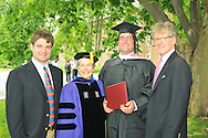Sally Dayton Clement, ''71, Trustee, with my mother, former Trustee Mary Lee Dayton, '46, graduating son, Winston Wallace Clement, '09, and family