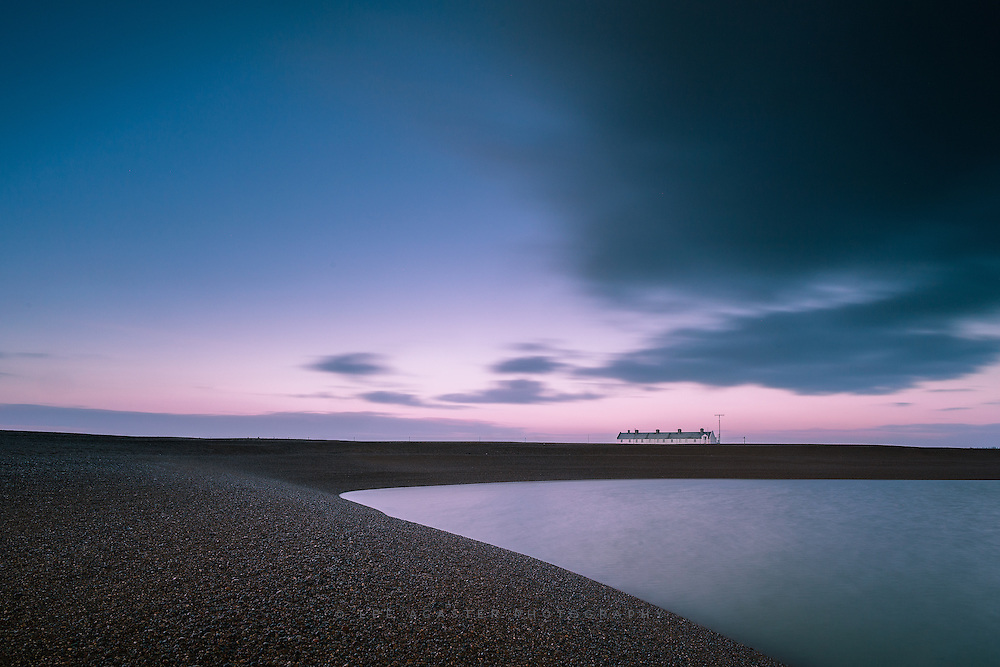 I never tire of Shingle Street, as there is such a surreal feeling to the place, especially at sunrise. This was my first outing with the Lee Little Stopper, and must say I enjoyed using it. Also used the new Lee Landscape polariser, great that it doenst cause vignetting, but not convinced about the warm up element to it, especially on a scene full of blue tones like this.