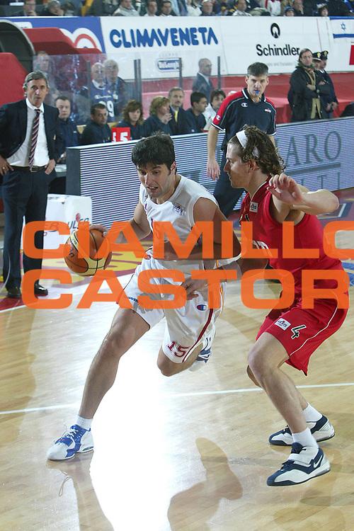 DESCRIZIONE : Roma Uleb Cup 2005-06 Lottomatica Virtus Roma Hapoel Gerusalemme <br /> GIOCATORE : Bodiroga <br /> SQUADRA : Lottomatica Virtus Roma <br /> EVENTO : Uleb Cup 2005-2006 <br /> GARA : Lottomatica Virtus Roma Hapoel Gerusalemme <br /> DATA : 22/11/2005 <br /> CATEGORIA : Penetrazione <br /> SPORT : Pallacanestro <br /> AUTORE : Agenzia Ciamillo-Castoria/G.Ciamillo
