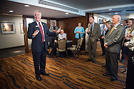 Congressman John Shimkus speaks to guests at a Let's Talk Life, Marriage and Religious Liberty event on Wednesday, Sept. 9, 2015, in Washington, D.C. LCMS Communications/Erik M. Lunsford