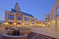 Virginia architectural photographers photo of retail center by Jeffrey Sauers of Commercial Photographics