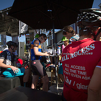 Registration at the 2014 Blitz to the Barrel.  © Brian Nelson
