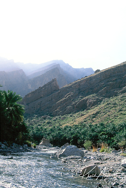 Wadi Bani Auf in Al Batinah south governate. This is one of  beautiful wadi in Oman.