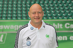 12.07.2011, Volkswagen Arena, Wolfsburg, GER, 1.FBL,  VfL Wolfsburg, Spielervorstellung im Bild  Jörg Drill (Masseur) beim VfL Wolfsburg in der Saison 2011/2012 // during the player praesentation in Wolfsburg 2011/07/12.     EXPA Pictures © 2011, PhotoCredit: EXPA/ nph/  Rust       ****** out of GER / CRO  / BEL ******