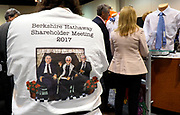 Berkshire Hathaway shareholders shop at the shareholder shopping day as part of the Berkshire Hathaway annual meeting weekend in Omaha, Nebraska May 5 2017. REUTERS/Rick Wilking