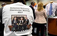 Berkshire Hathaway shareholders shop at the shareholder shopping day as part of the Berkshire Hathaway annual meeting weekend in Omaha, Nebraska May 5 2017. REUTERS/Rick Wilking