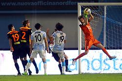 """Foto Filippo Rubin<br /> 04/04/2017 Ferrara (Italia)<br /> Sport Calcio<br /> Spal vs Novara - Campionato di calcio Serie B ConTe.it 2016/2017 - Stadio """"Paolo Mazza""""<br /> Nella foto: DAVID DA COSTA<br /> <br /> Photo Filippo Rubin<br /> Apirl 04, 2017 Ferrara (Italy)<br /> Sport Soccer<br /> Spal vs Novara - Italian Football Championship League B ConTe.it 2016/2017 - """"Paolo Mazza"""" Stadium <br /> In the pic: DAVID DA COSTA"""