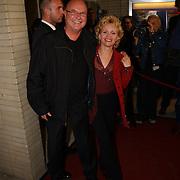 Opening Utrechts Filmfestival 2003, premiere Phileine zegt sorry, Renee Soutendijk en man Ted Lenssen