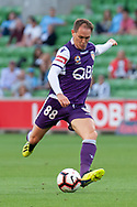 MELBOURNE, VIC - JANUARY 19: Perth Glory midfielder Neil Kilkenny (88) goes for a shot on goal at the Hyundai A-League Round 14 soccer match between Melbourne City FC and Perth Glory at AAMI Park in VIC, Australia 19th January 2019. Image by (Speed Media/Icon Sportswire)