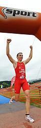 20.06.2010, Kobenz, AUT, X Trim Triathlon, im Bild Christoph Letiner (Rtm Klagenfurt), EXPA Pictures © 2010, PhotoCredit: EXPA/ S. Zangrando / SPORTIDA PHOTO AGENCY