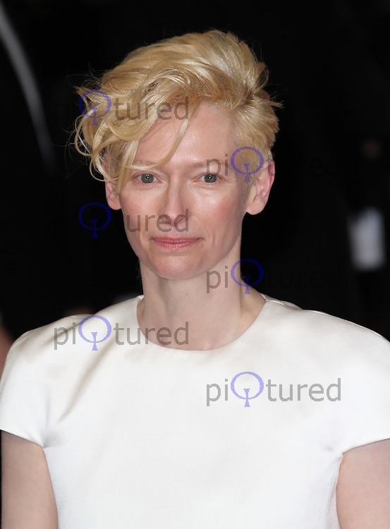 LONDON - FEBRUARY 12: Tilda Swinton attends the Orange British Academy Film Awards at the Royal Opera House, Covent Garden, London, UK on February 12, 2012. (Photo by Richard Goldschmidt)