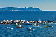 FIshing boats. Cape Breton Island.<br />