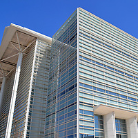 Sandra Day O&rsquo;Connor U. S. Courthouse in Phoenix, Arizona<br /> The Ninth District of the U. S. Court of Appeals covers Alaska, Arizona, California and Hawaii. Those judicial proceedings have been conducted in this courthouse since it opened on West Washington Street in 2000 after spending $123 million. The six-story, glass fa&ccedil;ade was designed by architect Richard Meier. The building&rsquo;s namesake is Sandra Day O&rsquo;Connor. She was an Arizona judge and Majority Leader of the State Senate. In 1981, she was appointed by President Ronald Reagan as the first woman U.S. Supreme Court Justice. O&rsquo;Connor retired in 2006.