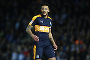 Newcastle United defender Jamaal Lascelles (6) during the EFL Sky Bet Championship match between Brighton and Hove Albion and Newcastle United at the American Express Community Stadium, Brighton and Hove, England on 28 February 2017. Photo by Bennett Dean.