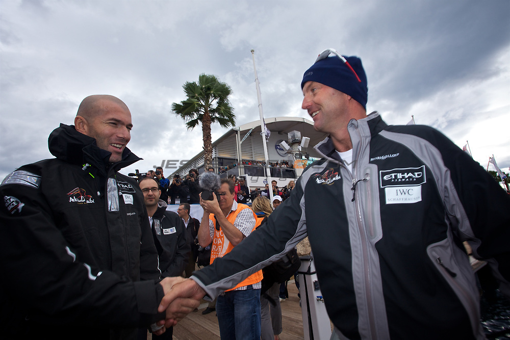 VOLVO OCEAN RACE 2011-2012.ALICANTE ,Spain,race start, first Leg..