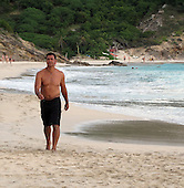 Ruud Gullit Family St Barth 01/02/2011
