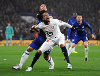 Football - 2019 / 2020 UEFA Champions League - Group H: Chelsea vs. Lille OSC<br /> <br /> Loic Remy of Lille, at Stamford Bridge.<br /> <br /> COLORSPORT/ANDREW COWIE