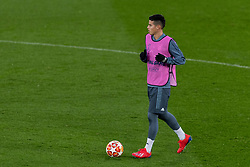 LIVERPOOL, ENGLAND - Monday, February 18, 2019: FC Bayern München's James Rodríguez during a training session at Anfield ahead of the UEFA Champions League Round of 16 1st Leg match between Liverpool FC and FC Bayern München. (Pic by Paul Greenwood/Propaganda)