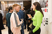 FRANK CARTER, BLANAID KENNY, , Miss Sue Webster hosts the launch of her book <br /> 'I Was a Teenage Banshee' The Mole House , Dalston. 17 October 2019