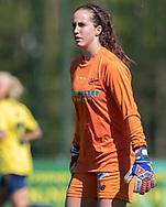 FODBOLD: Hannah Seabert (Fortuna Hjørring) under kampen i 3F Ligaen mellem Brøndby IF og Fortuna Hjørring den 11. maj 2019 på Brøndby Stadion. Foto: Claus Birch