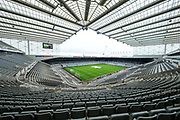 St James's Park ahead of the EFL Sky Bet Championship match between Newcastle United and Barnsley at St. James's Park, Newcastle, England on 7 May 2017. Photo by Craig Doyle.