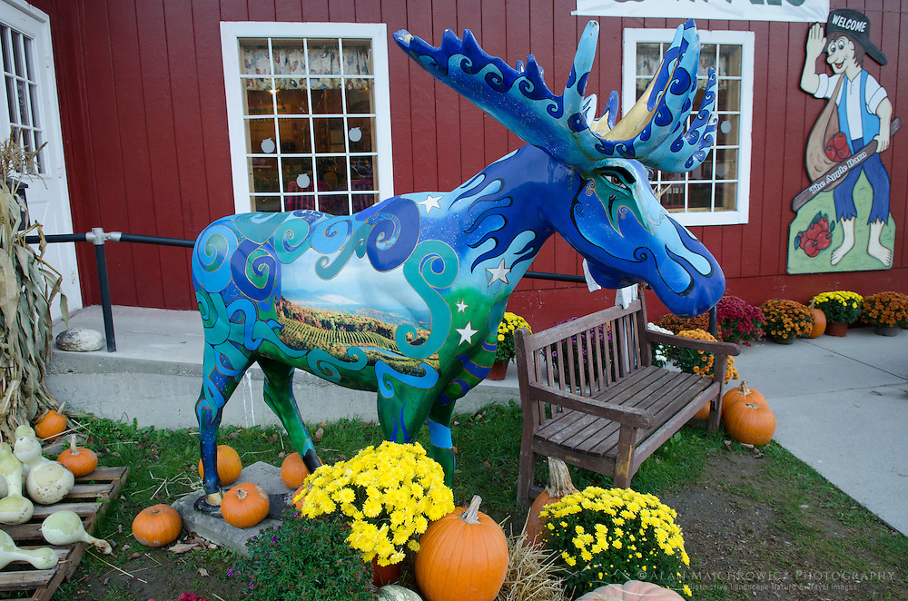 Painted Moose Bennington Vermont