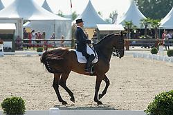 Devroe Jeroen (BEL) - Eres DL<br /> Belgisch Kampioenschap dressuur <br /> Hulsterlo - Meerdonk  2014<br /> © Dirk Caremans