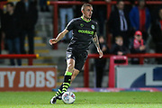 Forest Green Rovers Carl Winchester(7) during the EFL Sky Bet League 2 match between Morecambe and Forest Green Rovers at the Globe Arena, Morecambe, England on 22 October 2019.