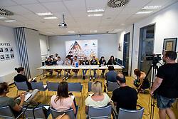 at press conference of PZS before IFSC Climbing World Championships Hachioji (JPN) 2019, on August 1, 2019 in PZS, Ljubljana, Slovenia. Photo by Matic Klansek Velej / Sportida