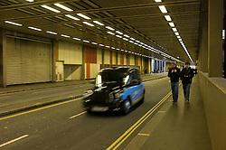 UK ENGLAND LONDON 23NOV11 - Beech Street tunnel at the Barbican, City of London.....jre/Photo by Jiri Rezac....© Jiri Rezac 2011