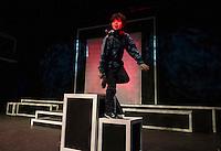 Winnipesaukee Playhouse Boy Who Drew Cats dress rehearsal.  Karen Bobotas for the Laconia Daily Sun