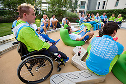 Henrik Plank of Slovenia in Paralympic village during Day 9 of the Summer Paralympic Games London 2012 on September 8, 2012, in Paralympic village, London, Great Britain. (Photo by Vid Ponikvar / Sportida.com)