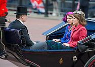 """PRINCESSES BEATRICE, EUGENIE AND DAD PRINCE ANDREW.TROOPING THE COLOUR_Duke of Edinburgh Makes 1st Appearance since being hospitalised.The event marks the Queen's Official Birthday, The Mall, London_16th May 2012.Photo Credit: ©Dias/DIASIMAGES..**ALL FEES PAYABLE TO: """"NEWSPIX INTERNATIONAL""""**..PHOTO CREDIT MANDATORY!!: NEWSPIX INTERNATIONAL..IMMEDIATE CONFIRMATION OF USAGE REQUIRED:.Newspix International, 31 Chinnery Hill, Bishop's Stortford, ENGLAND CM23 3PS.Tel:+441279 324672  ; Fax: +441279656877.Mobile:  0777568 1153.e-mail: info@newspixinternational.co.uk"""