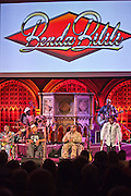 Staff Benda Bilili perform after their UK film premiere at Union Chapel, London.