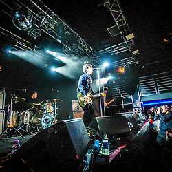 Johnny Marr on stage at The Liquid Room