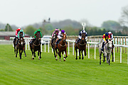 "Silver Start ridden by Richard Kingscote and trained by Charles in the Let's Play ""Four From The Top"" / British Ebf Novice Median Auction Stakes race.  - Mandatory by-line: Ryan Hiscott/JMP - 01/05/2019 - HORSE RACING - Bath Racecourse - Bath, England - Wednesday 1 May 2019 Race Meeting"