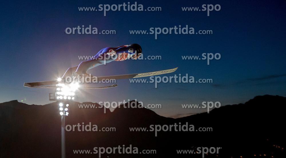 28.12.2015, Schattenbergschanze, Oberstdorf, GER, FIS Weltcup Ski Sprung, Vierschanzentournee, Training, im Bild Gregor Schlierenzauer (AUT) // Gregor Schlierenzauer of Austria// during his Practice Jump for the Four Hills Tournament of FIS Ski Jumping World Cup at the Schattenbergschanze, Oberstdorf, Germany on 2015/12/28. EXPA Pictures © 2015, PhotoCredit: EXPA/ Peter Rinderer