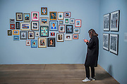 Martin Parr, Autoportraits - Tate Modern's new photography show, Performing for the Camera. The exhibition examines the relationship between photography and performance, from the invention of photography in the 19th century to the selfie culture of today, bringing together over 500 images spanning 150 years. Highlights include: artist Romain Mader and his series Ekaterina, which follows Romain's fictitious search for a bride in Eastern Europe; Amalia Ulman's social media sensation Excellences and Perfections performed over a four month period on Instagram; and a wall of artist-designed advertising posters by the likes of Jeff Koons, Andy Warhol and Joseph Beuys. Performing for the Camera is at Tate Modern from 18 February – 12 June 2016.