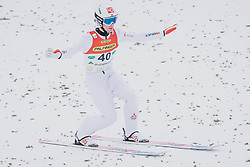 16.02.2020, Kulm, Bad Mitterndorf, AUT, FIS Ski Flug Weltcup, Kulm, Herren, im Bild Daniel Andre Tande (NOR) // Daniel Andre Tande of Norway during his Jump for the men's FIS Ski Flying World Cup at the Kulm in Bad Mitterndorf, Austria on 2020/02/16. EXPA Pictures © 2020, PhotoCredit: EXPA/ Dominik Angerer