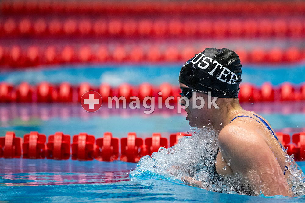 SC Uster Wallisellen's Sarah HEIM of Switzerland competes in the in the women's 400m Individual Medley (IM) B-Final during the Swiss Swimming Championships at the Piscine des Vernets in Geneva, Switzerland, Saturday, March 25, 2017. (Photo by Patrick B. Kraemer / MAGICPBK)
