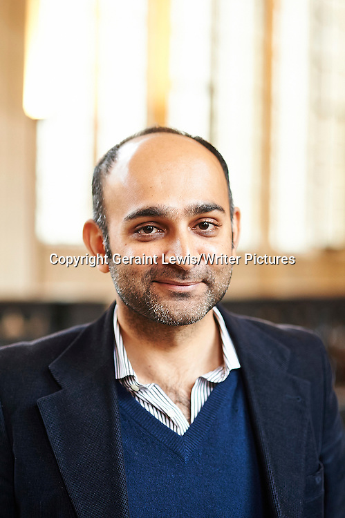 Moshin Hamid at The Oxford  Literary Festival<br /> 24th March 2013<br /> <br /> Photograph by Geraint Lewis/Writer Pictures<br /> <br /> <br /> WORLD RIGHTS