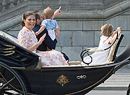 Crown Princess Victoria 40th Birthday - Carriage Ride