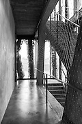 Inside view of National Choreographic centre, called The Pavillon Noir, in Aix-en-Provence, France.